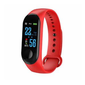 Smart Watch Bluetooth 4.2 Heart Rate Oxygen Blood Pressure Sport Fitness Tracker