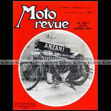 MOTO REVUE N°1577 ★ ANZANI ★ MOTEUR JAWA 350 GRAND PRIX ★ MOTO-CROSS 1962 ★