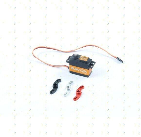 SC-1256TG SAVOX Servos (20KG) con CNC Metal Servo Brazo 1 PC