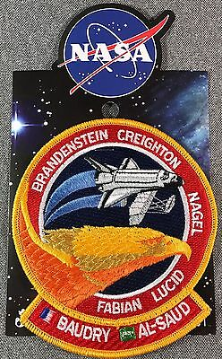 NASA STS-51 G MISSION PATCH Official Authentic SPACE 4.75in Made in USA si