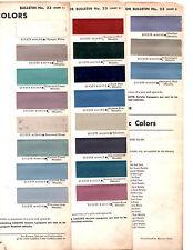 1960 CADILLAC DE VILLE ELDORADO FLEEETWOOD BIARRITZ SIXTY SEVILLE PAINT CHIPS D3
