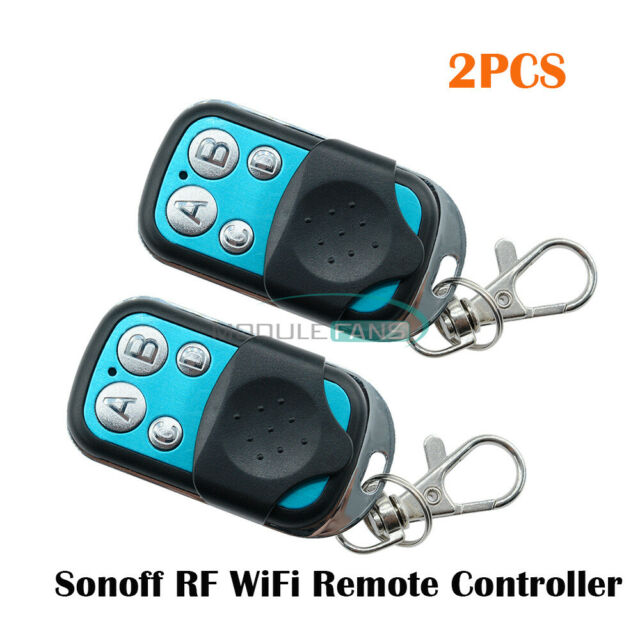 2PCS 433MHz Sonoff Wireless WIFI Remote Controller RF Remote Controller For Home