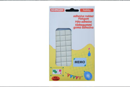 Klebepads 54 stück • Kleber • Sticks • Klebegummi • Sticky Tack • Knetkleber