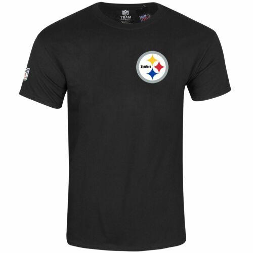 Majestic NFL Shirt REALM Pittsburgh Steelers schwarz