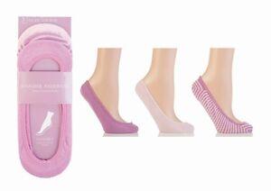 3/6/9/12 Pares de Calcetines Para Damas/Niñas invisible Zapatilla Zapato los trazadores de líneas Algodón Rico 4-8
