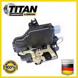 DOOR LOCK MECHANISM FITS FOR SEAT IBIZA SKODA FABIA VW POLO CADDY FRONT RIGHT