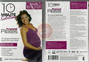 10-Minute-Solution-PRENATAL-PILATES-fit-healthy-pregnant-flat-belly-fast-NEW-DVD