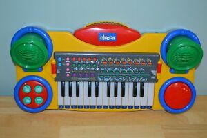 Vintage Chicco Keyboard Children S Music Piano Instrument