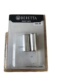 Beretta 20ga Aluminum Snap Caps.