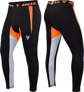 RDX-Men-039-s-MMA-Compression-Pants-Running-Exercise-Base-Layer-Tight-Cycling-Sport