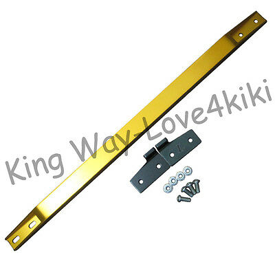 GOLD SUBFRAME LOWER TIE BAR BRACE ARM REAR FOR 92-95 HONDA CIVIC INTEGRA DEL SOL