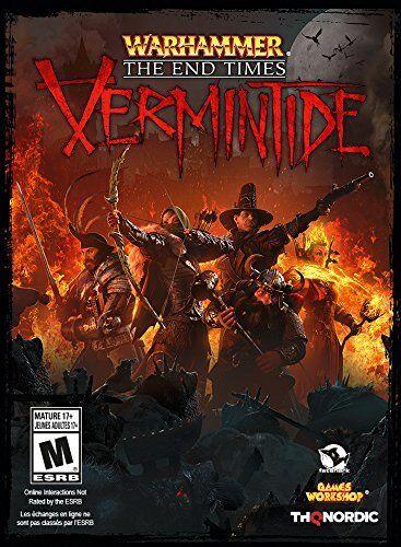 Warhammer: End Times - vermintide (Pc Dvd) NUEVO PRECINTADO