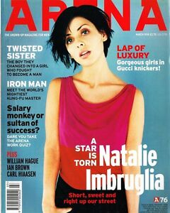 Details about ARENA Magazine #76 03/1998 NATALIE IMBRUGLIA Estella Warren  RZA William Hague EX
