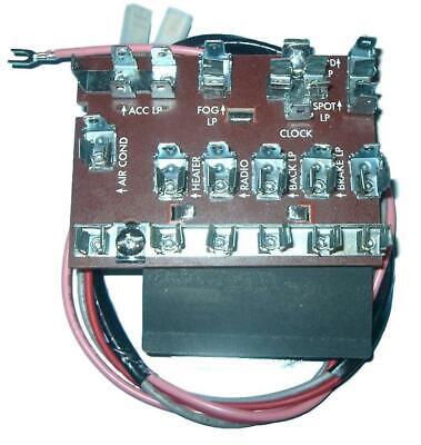 55 56 57 chevy electrical fuse box 1955 1956 1957 chevrolet new | ebay  ebay