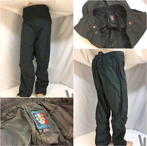 Sunice-Golf-Rain-Pants-XXL-Men-Green-Poly-Pockets-Ankle-Zip-40x32-YGI-9121