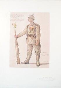Wilhelm-Morisse-von-Hindenburg-91er-Regiment-Kunstdruck-1916-G-1804