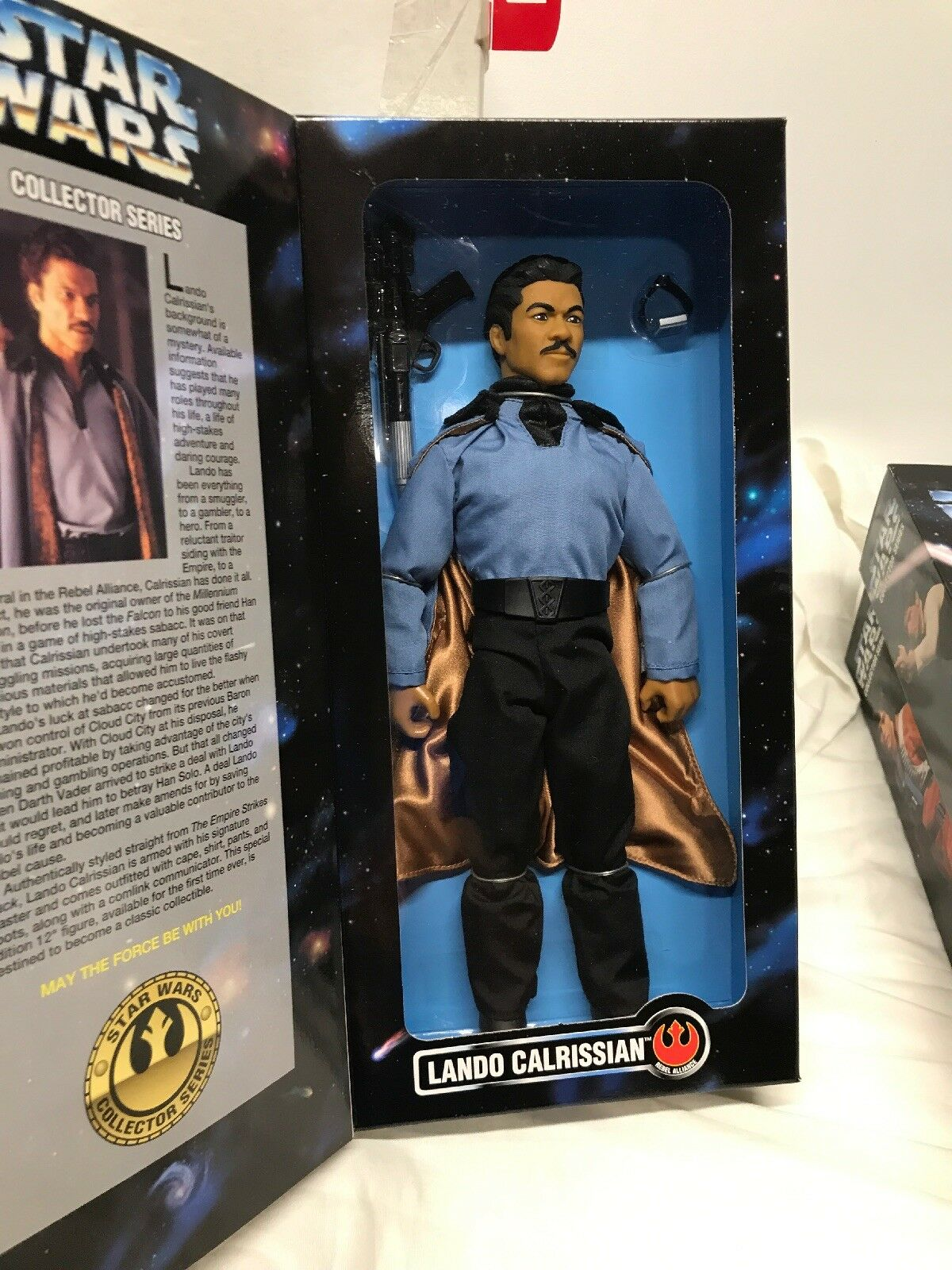 Star Wars 1997 12  Action Figures Collector Series Series Series Solo Luke At-At Driver Lando c41a8f