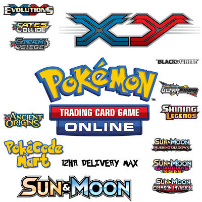 100 x Pokemon SM Celestial Storm Code TCGO Cards TCG Codes SENT IN 12 HOURS