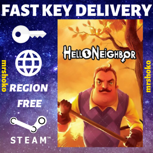 Hello-Neighbor-PC-Steam-Key-GLOBAL-NO-CD-DVD-FAST-DELIVERY-Stealth-Survival