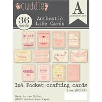 Authentique Paper Cuddle Girl Authentic Life Cards - 271802