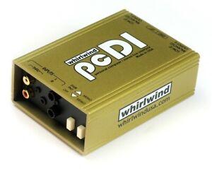 Whirlwind PCDI Computer CD Player MP3 Player Direct Box DI audio interface
