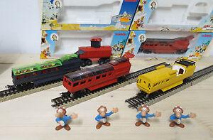 MB-Marklin-Alpha-Vagon-Rojo-Amarillo-amp-Negro-DIVERSOS-piezas-nuevo-emb