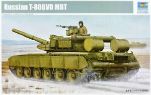 Trumpeter 1:35 T-80BVD MBT Tank Russe Model Kit