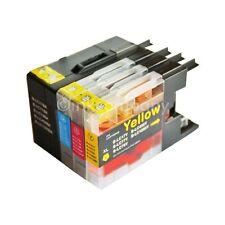 4x Tinte Patronen für Brother den Drucker MFC-J5910DW LC 1280 XXL SPARPAKET NEU
