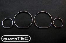 CROMO TACHIMETRO ANELLO SET BMW E46 LIMOUSINE TOURING CABRIO COUPE COMPACT