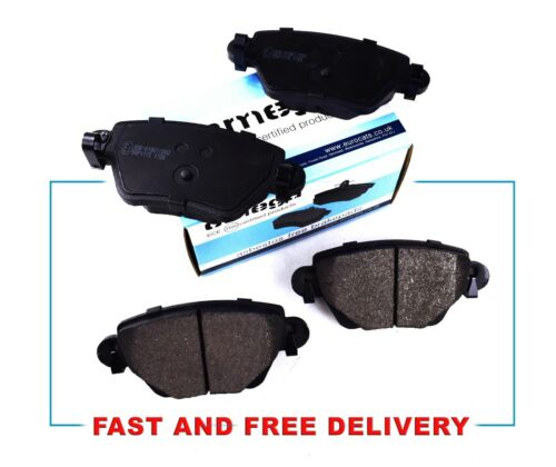 REAR DISC BRAKE PADS FOR FORD MONDEO MK 3 JAGUAR X TYPE  BOSCH TYPE 00-04