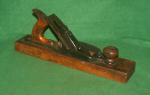 GOOD-USER-Antique-Vintage-Ohio-Tool-No-27-Transitional-Jack-Plane-Inv-JU24