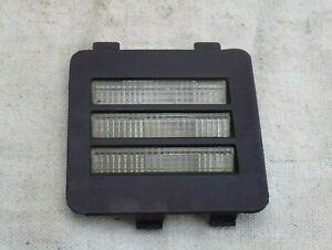 Interior Halo Rear Courtesy Light Lens Black 1985 C4 Corvette RH Passenger