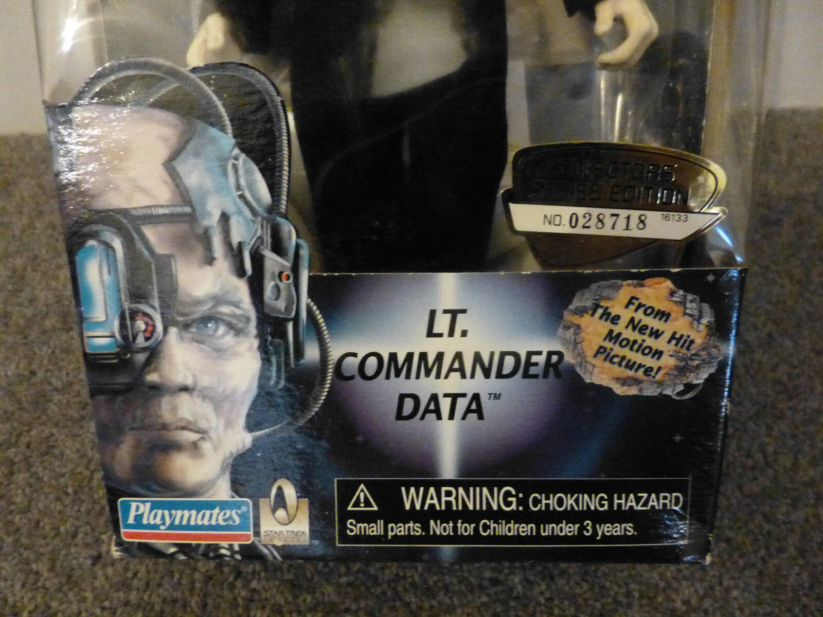 STAR TREK FIRST CONTACT LIEUTENANT LIEUTENANT LIEUTENANT COMMANDER DATA 84547d