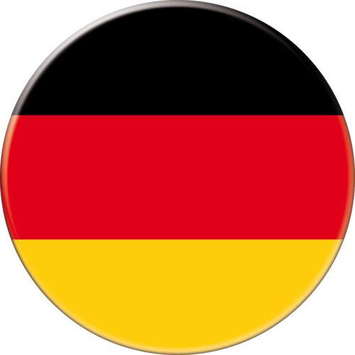 5 x sticker 5cm auto moto velo valise pc portable drapeau Rond Allemagne-Germany