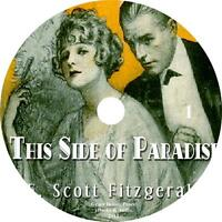 This Side Of Paradise, Classic Audiobook By F. Scott Fitzgerald On 9 Audio Cds