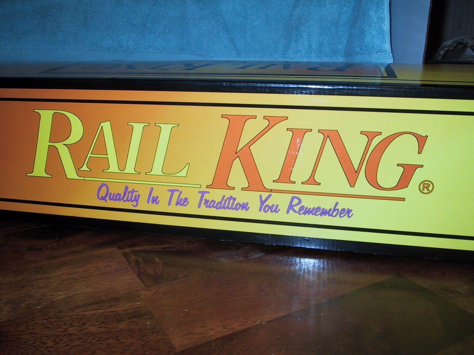 MTH rail king Tren Eléctrico Motor de conmutador de escala 0-8-0 DIE CAST
