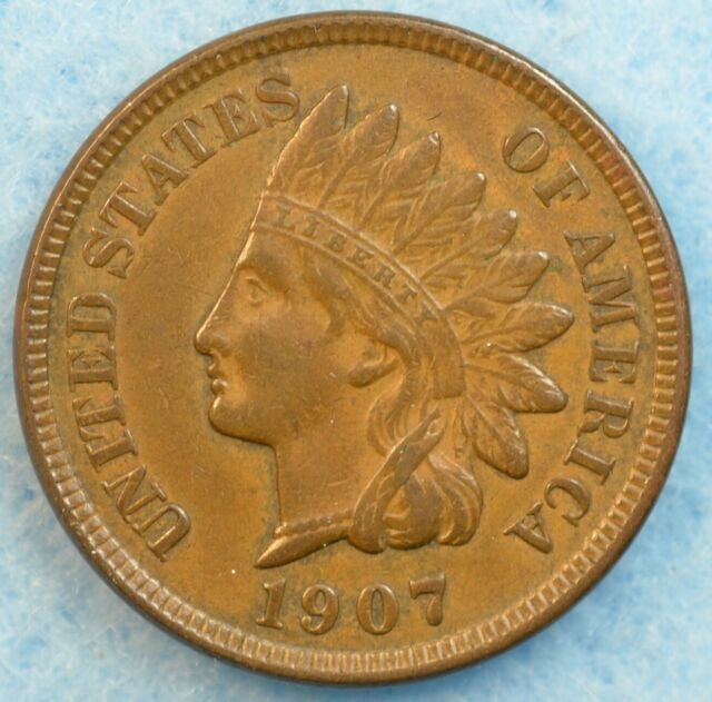 1907 Indian Head Cent Penny Very Nice Old Coin LIBERTY Fast S&H 78285