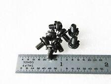 6 32 X 14 Screw Sems Pan Head Phillip Black Oxide Steel 100 Pcs