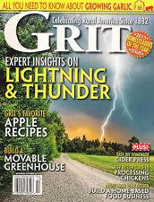 GRIT September/October 2015 Learn to Grow Garlic DIY Homemade Cider Apple Recipe