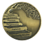 12 Steps with the Principles Premium Bronze AA//NA coin token medallion