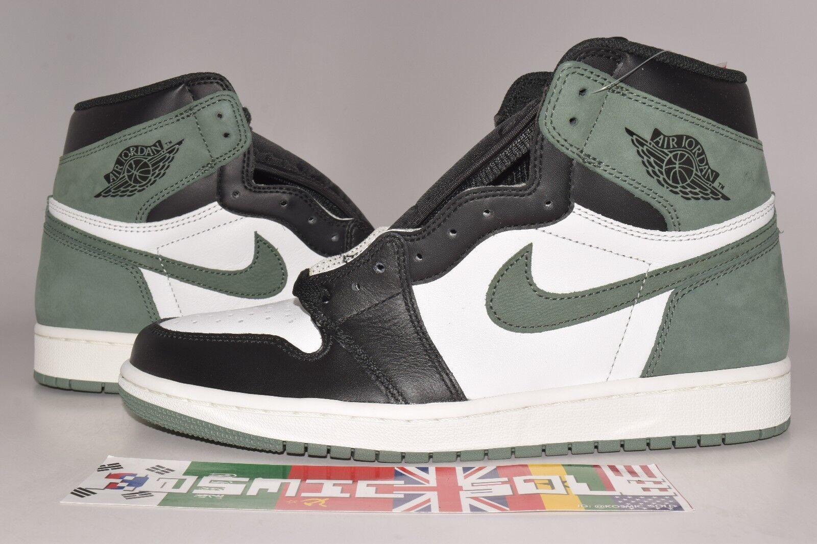 "Nike Air Jordan 1 Retro ""Clay Green"" Style Size 11"