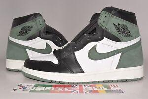 Nike-Air-Jordan-1-Retro-Clay-Green-Style-555088-135-Size-11-5