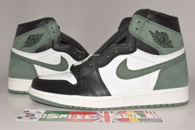 brand new b078a a5805 Nike Air Jordan 1 Retro High OG Clay Green Best Hand in The Game Men  555088-135