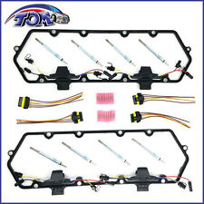 BRAND NEW VALVE COVER GASKETS HARNESS & GLOW PLUG KIT FOR FORD 7.3L TURBO DIESEL