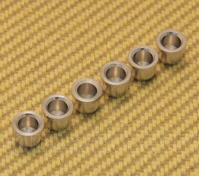 """Nickel 5//16/"""" String Anchor Body Ferrules for Fender Telecaster//Tele® MVSF-N 6"""