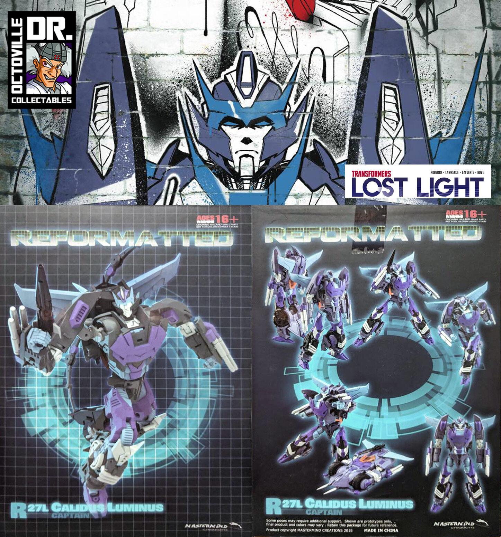 Transformers Mastermind Creations R-27L Calidus Luminus   IDW Rodimus Prime MISB