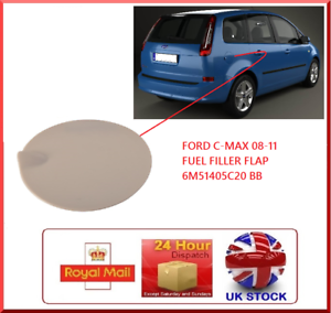 Sutable-For-Ford-C-Max-Fuel-Flap-Brand-New-6m51-405C02-BB-2005-2011-Cmax-Cover