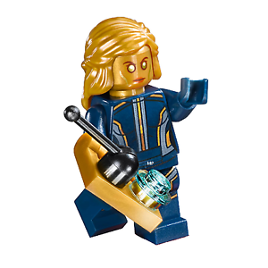 Lego Marvel Galaxy Of The Guardians Ayesha Minifigure From
