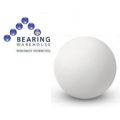 Single Delrin Plastic Ball (Metric Sizes: 1mm to 50mm)