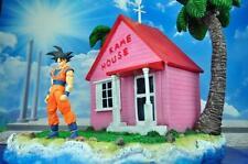 45X35X35CM Dragonball Kame House Resin Diorama For SHF Goku Vegeta Gohan Piccolo